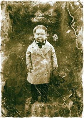 Мэтью Брейди. Мальчик с пальчик. 1850-е
