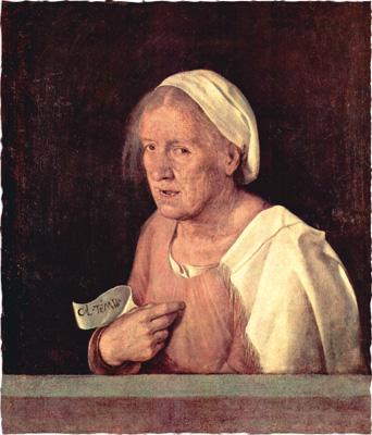 Джорджоне. Старуха. Ок. 1510
