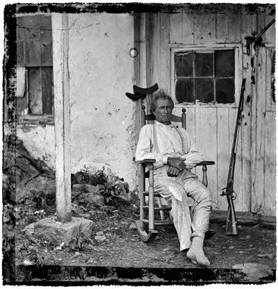 Тимоти О'Салливан. Старый герой. Пенсильвания. 1863