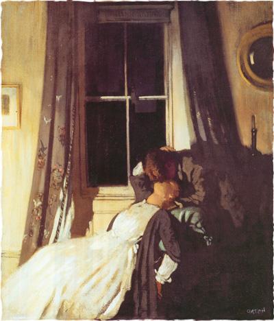 Уильям Орпен. Ночь. 1907
