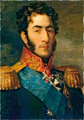 Джордж Доу. Портрет П.И.Багратиона. 1823—1825