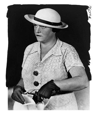 Детектив Мэри Агнес Шейли, произведшая за свою карьеру около тысячи арестов. Нью-йорк. 1937