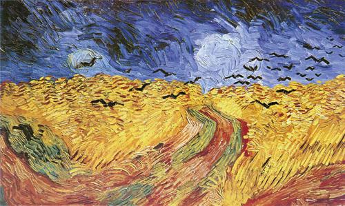 Винсент ван Гог. Вороны над пшеничным полем. 1890