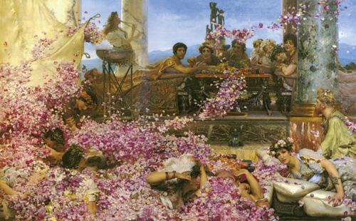 Лоуренс Альма-Тадема. Розы Гелиогабала. 1888