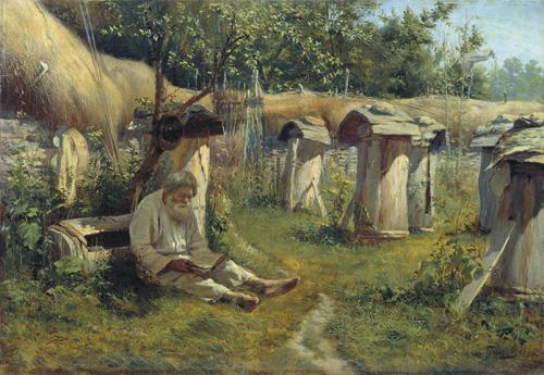 Николай Богатов. Пасечник. 1875