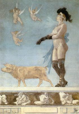 Фелисьен Ропс. Порнократия. 1878