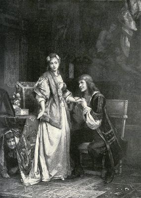 Карл Хофф. «Тартюф» Мольера. 1892
