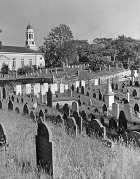 Альфред Эйзенштадт. Кладбищенский вид. 1940