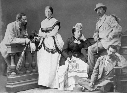 Британские колонисты в Египте. 1869