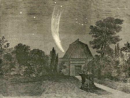 Комета Донати. Октябрь 1858
